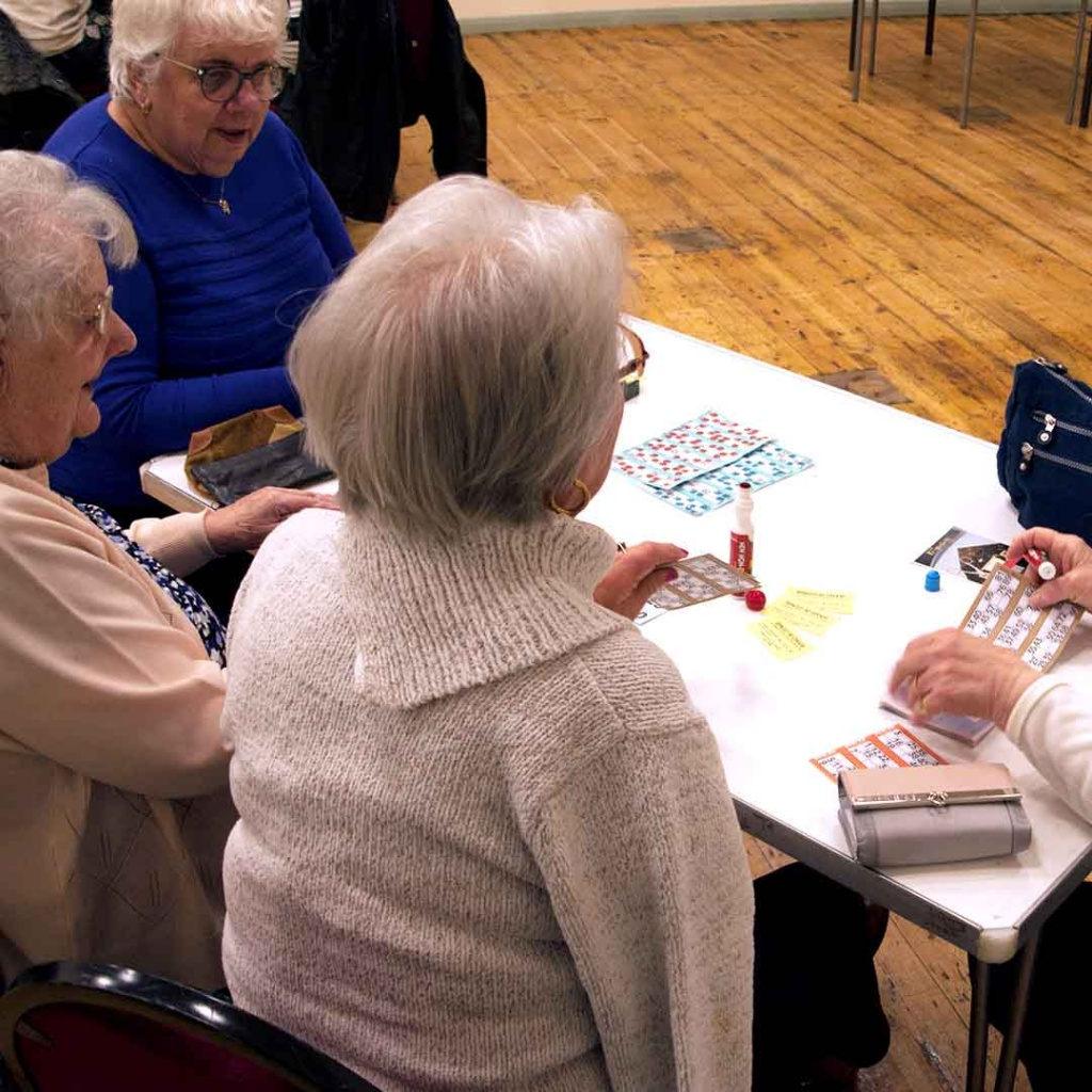 Bingo Game North Wootton Village Hall Kings Lynn Norfolk