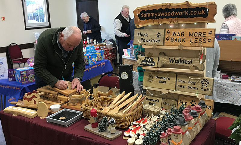 https://northwoottonvillagehall.org.uk/wp-content/uploads/2019/09/Christmas-Fair-2019-06-Wood-Craft-North-Wootton-Village-Market-Village-Hall-Kings-Lynn-Norfolk-Event-Venue-Hire.jpg