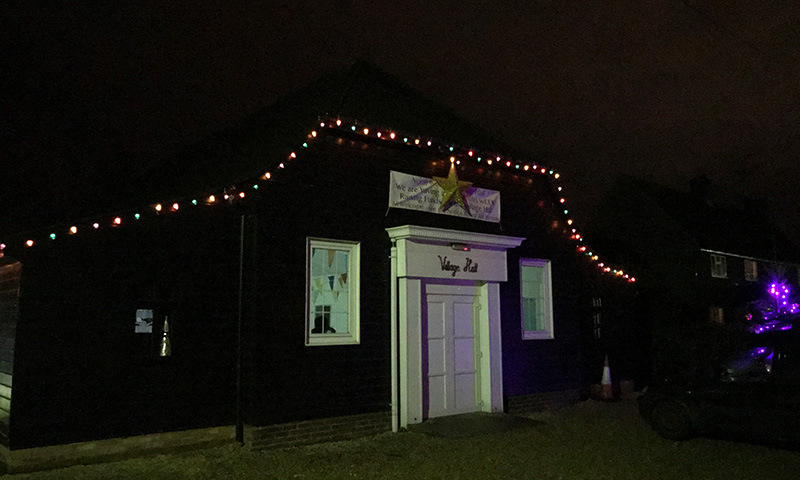Christmas Fair 2019 Lights North Wootton Village Hall Kings Lynn Norfolk Event Venue Hire
