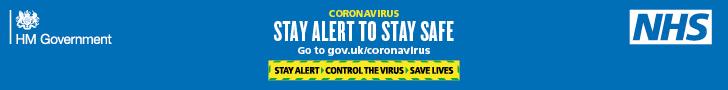 Stay Alert Coronavirus May 2020 Update North Wootton Village Hall West Norfolk Kings Lynn Covid19