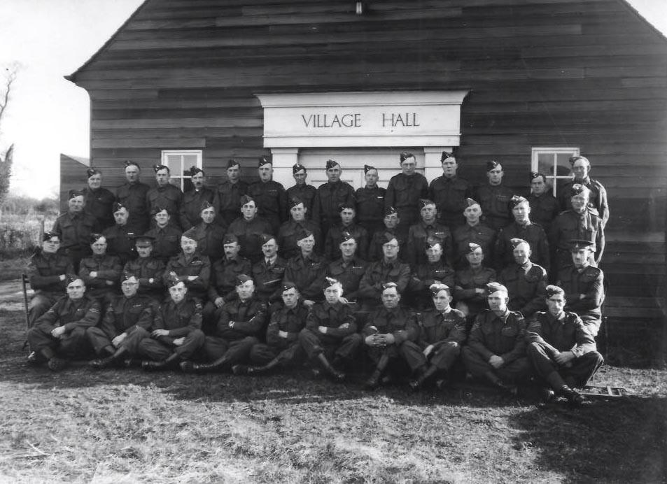 Home Guard North Wootton Village Hall VJ Day Celebration 2021