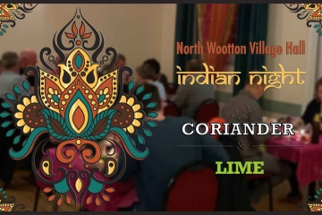 Indian Night Coriander and Lime October 2021 North Wootton Village Hall Kings Lynn Norfolk Event Venue