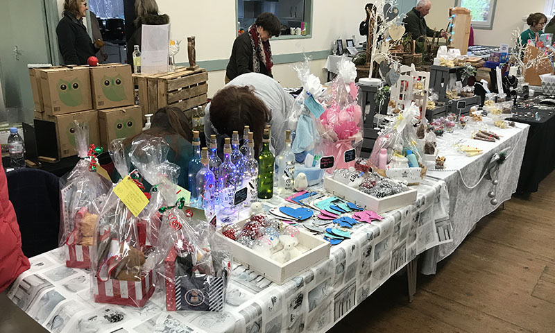 Christmas Fair 2021 10 Gifts North Wootton Village Market Village Hall Kings Lynn Norfolk Craft Fair Real Christmas Tree Sale